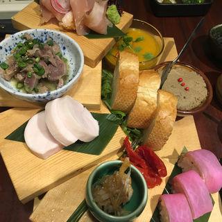 前菜盛り合わせ(さかえや 恵比寿本店 )