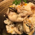 限定サイドメニュー愛媛県御荘湾の牡蠣出汁 牡蠣飯