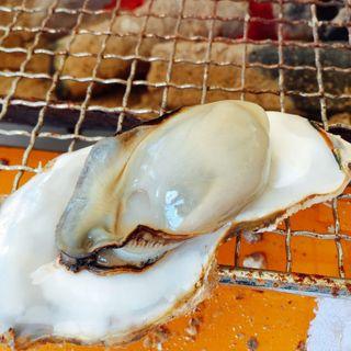 牡蠣の食べ放題(かき小屋仙台港 )