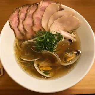 ボンゴレ醤油 肉増しC(Ramen 辻)
