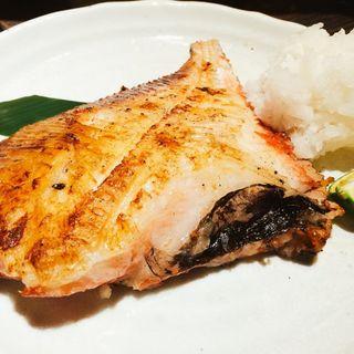 まとう鯛の干物(いろり家東銀座店)
