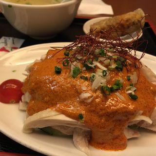 蒸し鶏セット(サイゴン 丸の内店 )