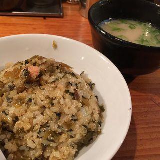高菜明太チャーハン(博多ラーメン清水屋 )