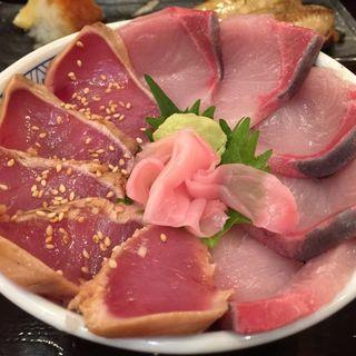 鰤と漬け鮪丼(魚盛 丸の内店 )