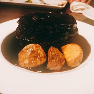 黒酢の酢豚(マツシマ)