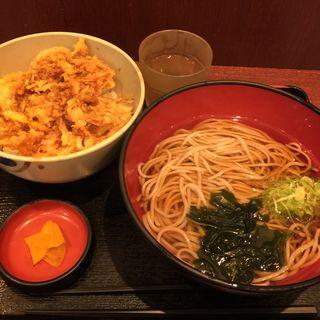 かき揚げ丼セット(越後そば 東京店 )