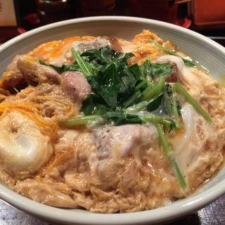 親子丼(繁乃井 東京駅黒塀横丁店 (しげのい))