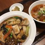 かけご飯半拉麺セット