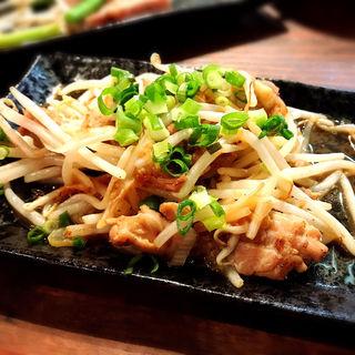 鶏せせりポン酢焼き(お好み焼き うめ月 )