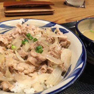 あぐー豚丼定食(やちむん 東京支店 )