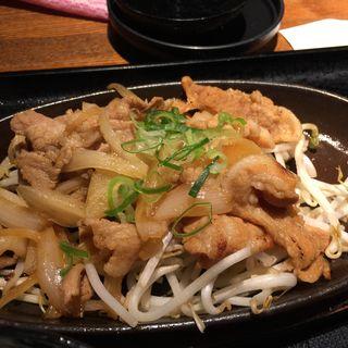 生姜焼き定食(旬彩庵 丸の内店 (しゅんさいあん))