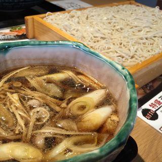 特盛鴨汁せいろ(お蕎麦や杉うら)