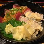 麹漬け 海鮮二色丼(虎連坊 大手町店 (とられんぼう))