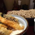 天丼セット(みとう庵 大手町店 )