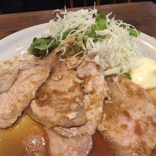 しょうが焼き定食(ファームキッチン 然 大手町店 )