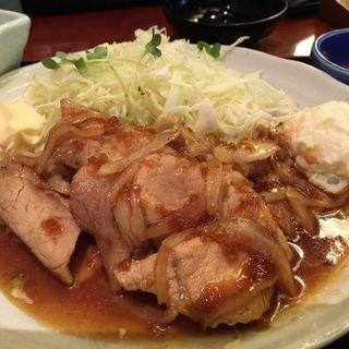 生姜焼き定食(酒場蛍火 大手町ファーストスクエア店 )
