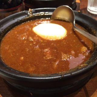 牛スジ玉子カレー(ホットスプーン 丸の内店 (Hot Spoon))