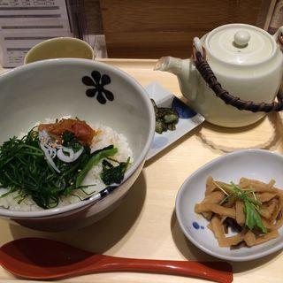 紀州南高梅と広島菜のだし茶漬け(だし茶漬けえん 大手町店 )