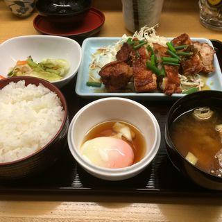 若鶏唐揚げ定食(都夏 大手町店 )