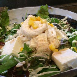 豆腐サラダ(旨み処 本丸 )
