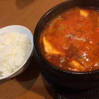 純豆腐チゲ(あかり )