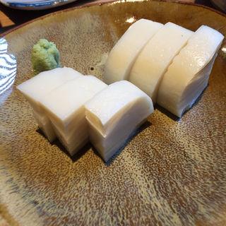 板わさ(江戸蕎麦僖喬(ききょう))