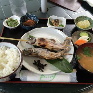 岩魚焼き定食(グリーンハウス )