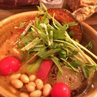 旬野菜のスープカレー(ソウルストア (SOUL STORE))
