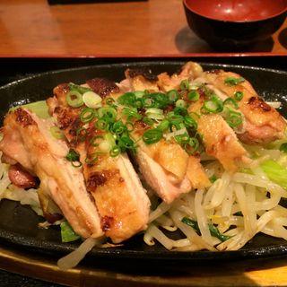 鶏もも肉の酒粕焼き(虎連坊 大手町店 (とられんぼう))