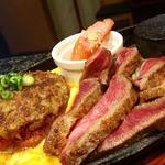 特選よくばりコラボセット(ハンバーグ+牛タン)