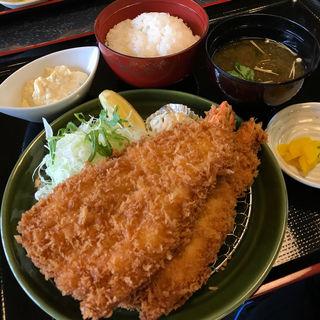 開き大海老フライ定食(漣 伊勢店 )