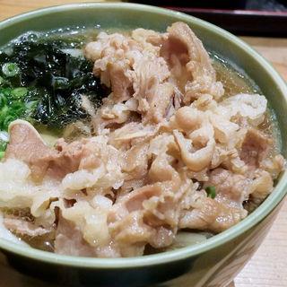 肉うどん(麺むすび )