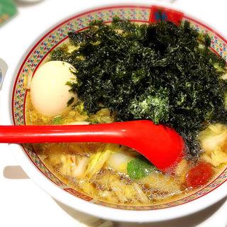 煮玉子磯海苔ラーメン(カムクラ ダイニング)