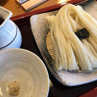 ざるうどん(釜揚げうどん 主水庵 (もんどあん))