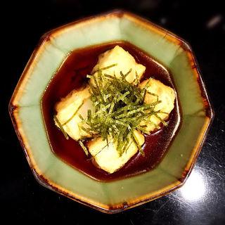 揚げ出し豆腐(小林精肉店 )