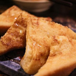 三角フレンチトースト(花葉根 )