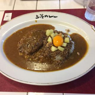 ガーリック風味のそぼろカレー(上等カレー 神田小川町店)
