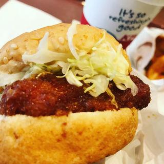 Aサンドセット(ケンタッキーフライドチキン 梅田HEP通り店 (KFC))