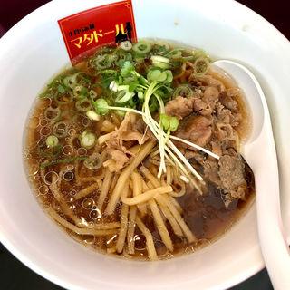 醤油らぁ麺(牛骨らぁ麺マタドールANNEX)