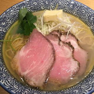 貝汁そば(麺屋一燈)