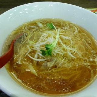 鶏塩ラーメン(大盛)(福龍)