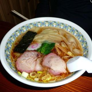 ワンタンメン(麺屋 五蔵田)