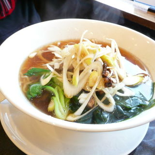 葱油麺(四川料理清華        )