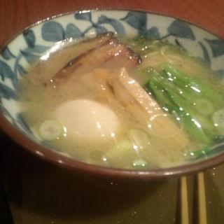 鶏白湯塩(三宝亭 須賀川店 )