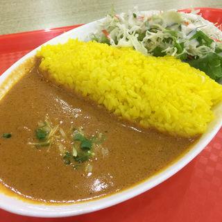 カレー2種盛り(ライス大盛可ドリンク付き)(Royal Curry スーパービバホーム加須店 (ロイヤルカリー))