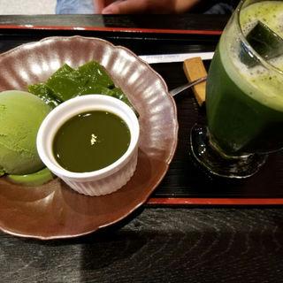 抹茶づくし(京煎堂 祇園本店 )