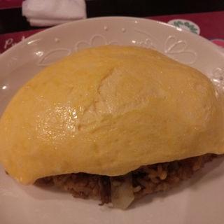 焼き肉オムライス(五穀 けやき通り店)