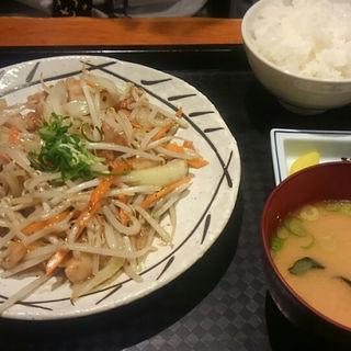 ホルモンタレ焼き(カラフル食堂 那の川店)