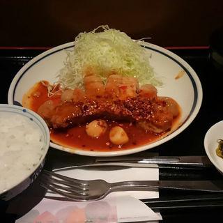 辛味噌トンテキ定食(ぎおん亭 交通センター店)