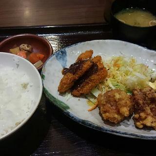 鶏ぷる3定食(しょうき 半道橋店)